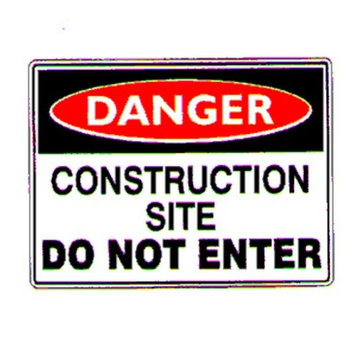 Danger ConSite Do Not Enter Sign