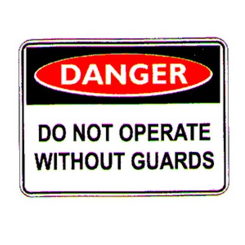 Danger Do Not Operate Labels