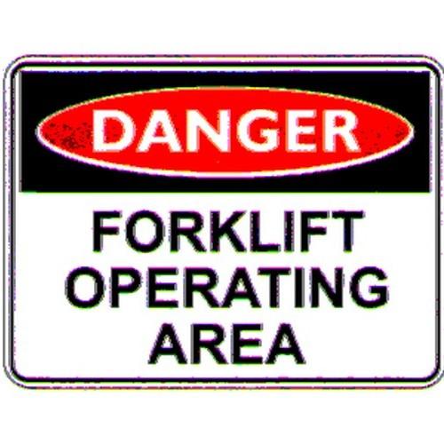 Danger-Forklift-Operating-Sign
