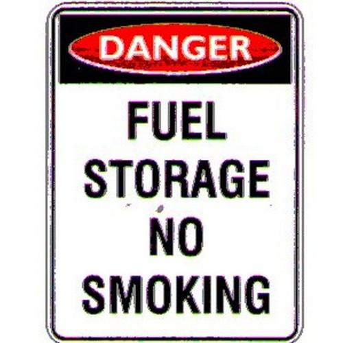 Danger Fuel Storage No Sign
