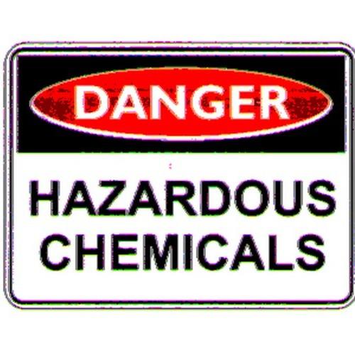 Danger Hazardous Chem Sign