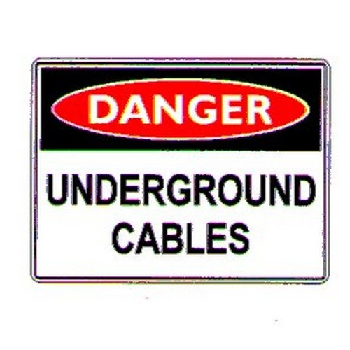 Danger Underground Sign