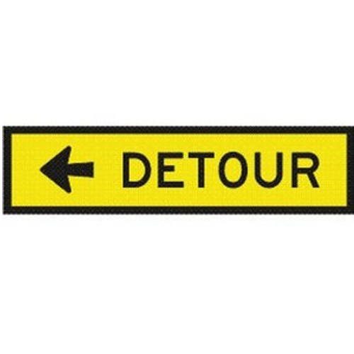 Detour-Left-Box-Edge-Sign