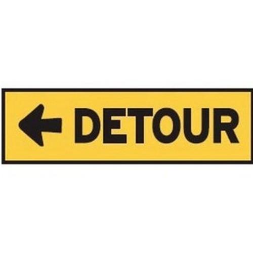 Detour Left Multi Message