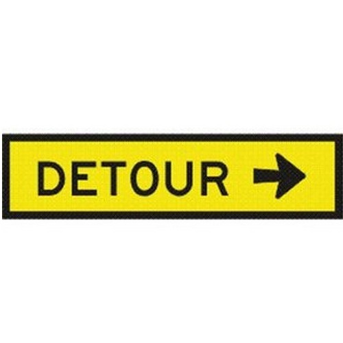 Detour-Right-Box-Edge-Sign