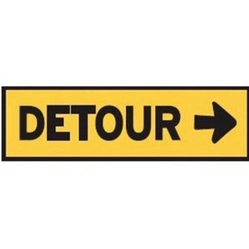 Detour Right Multi Message