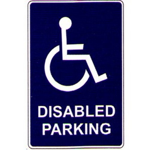 Disabled Parking Symbol Sign