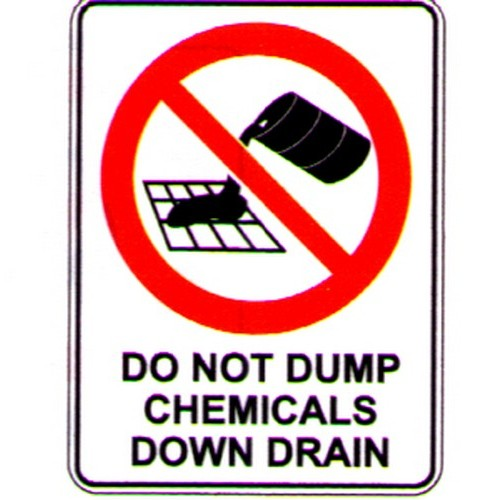 Do-Not-Dump-Chemicals-Sign