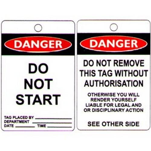 Do Not Start