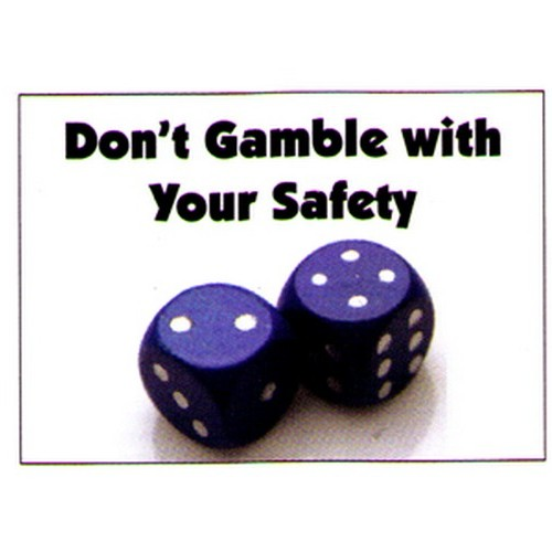 Dont Gamble Poster