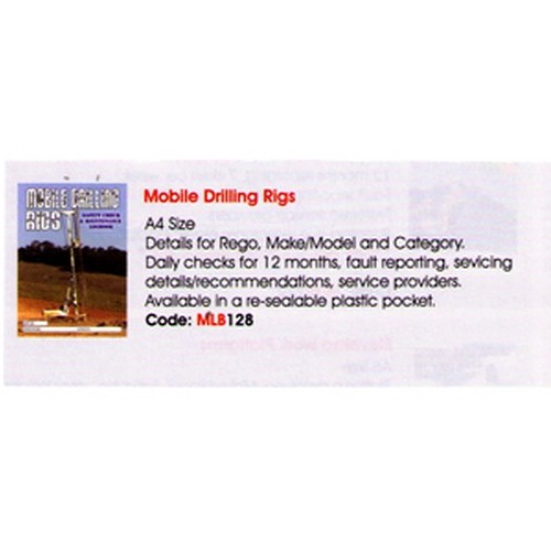 Drill Rigs Log Book