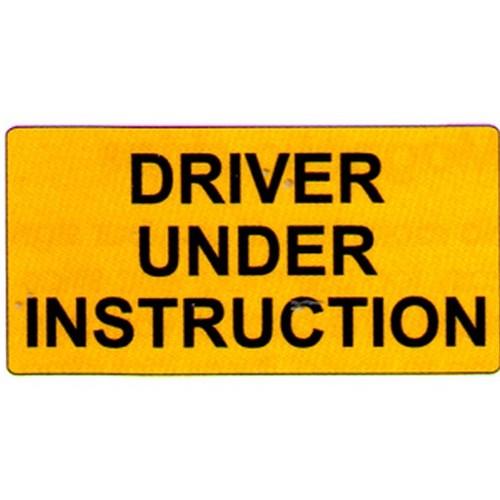 driver under instruction