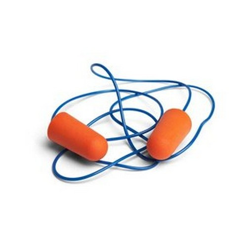 Ear plugs with a cord