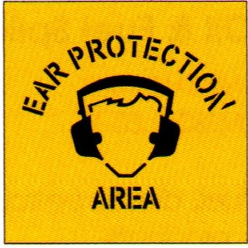Ear Prot AreaSymbol Stencil