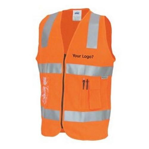 Embroidered Safety Vest