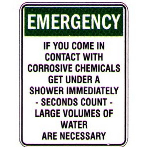 Emergency-If-You-Come-Sign