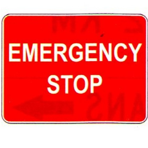 Emergency-Stop-Sign