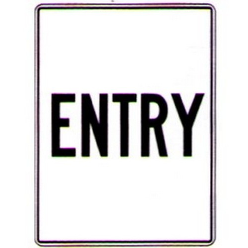 Entry-Sign