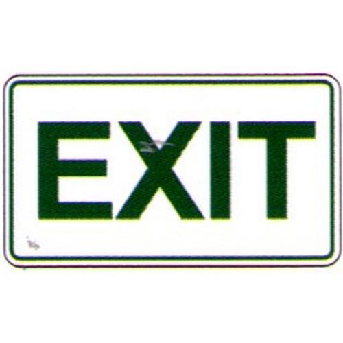 Exit Qld Sign