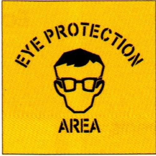 Eye Prot AreaSymbol Stencil