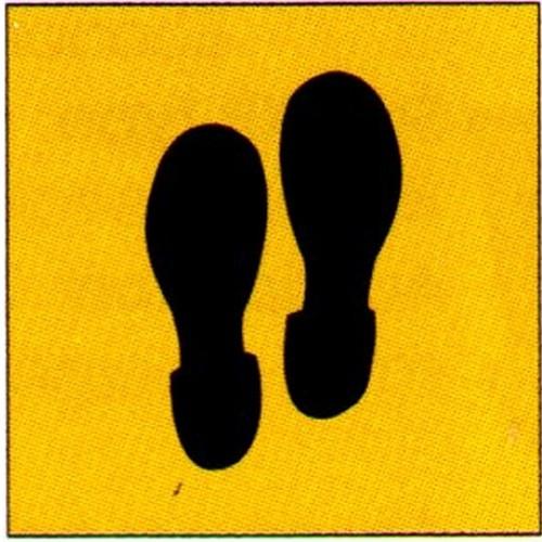 Feet Stencil