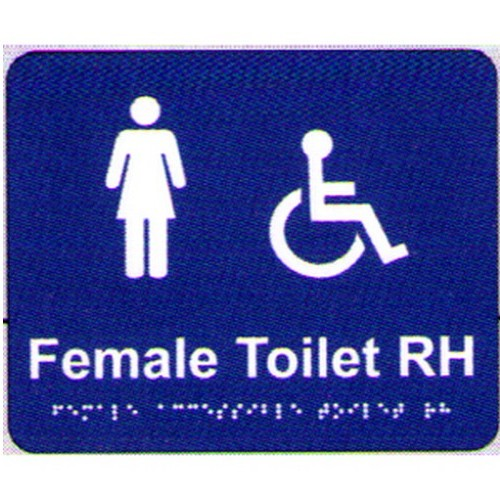 Female-AccesToilet-Rh-Braille-Sign