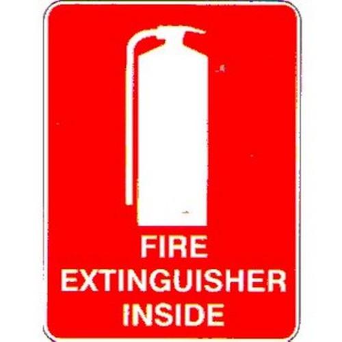 Fire Extinguisher Inside Labels