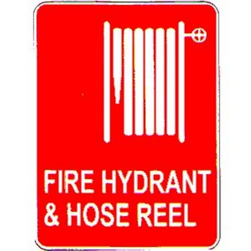 Fire Hydrant Hose Reel Sign