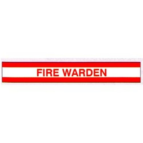 Fire Warden Arm Bands
