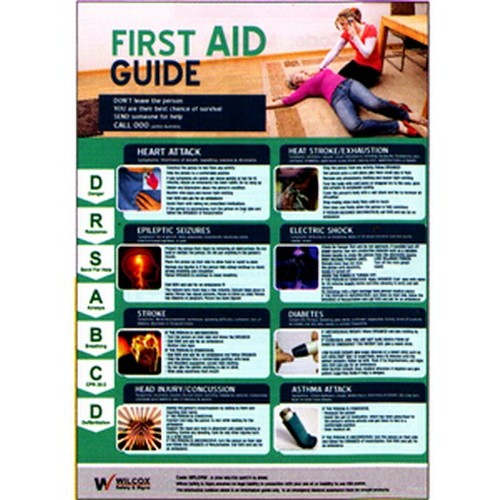 First Aid Heart Poster
