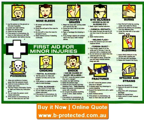 First Aid Minor  Poster