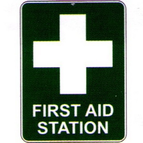 First Aid Station Labels