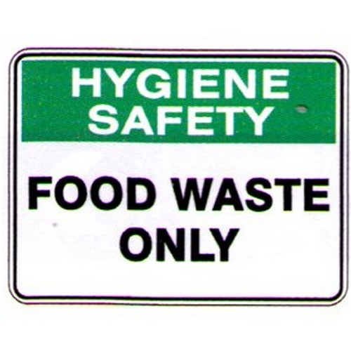 Food-Waste-Only-Sign