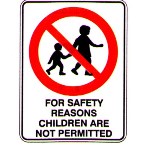 For-Safety-Reasons-Child-Are-Sign