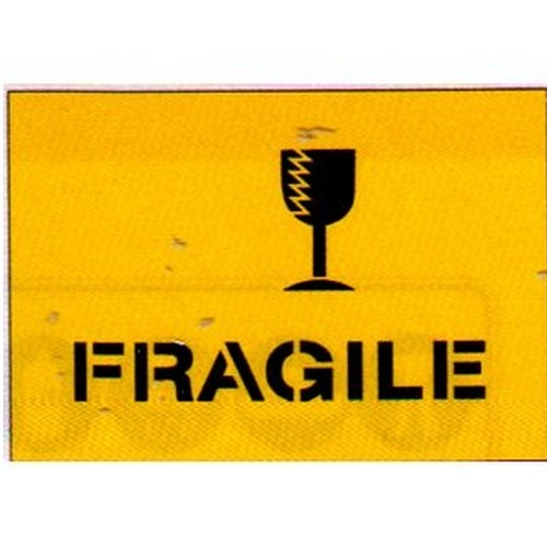 Fragile+Packaging Stencil