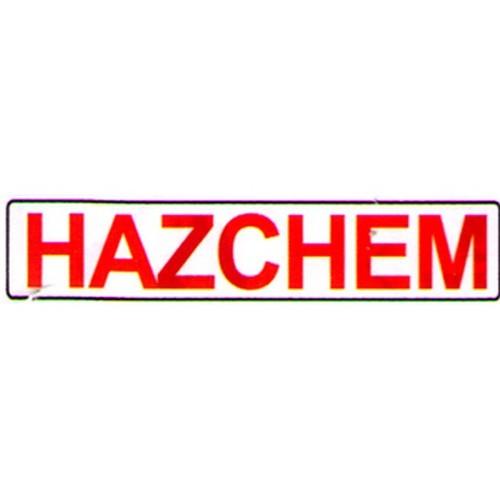 Hazard Chemicals Sign