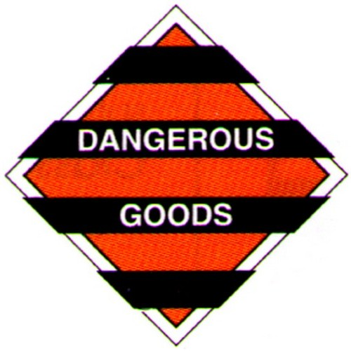 Hazchem Dangerous Goods Labels