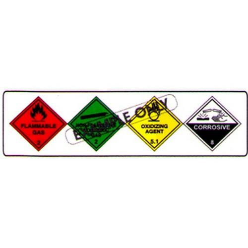 Hazchem Qld Composite Sign