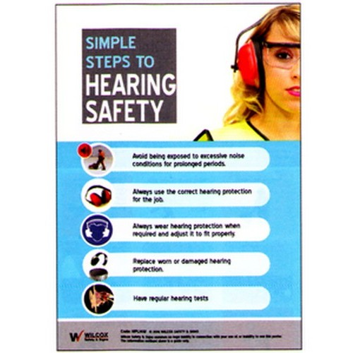 Hearing Safety Poster