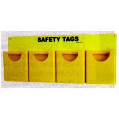 Heavy Duty Lockout Tag Holder For 4 Types Of Tags