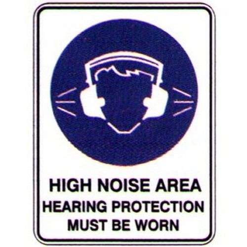 High-Noise-Area-Sign