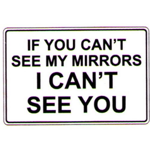 If You Cant See My Mirrors