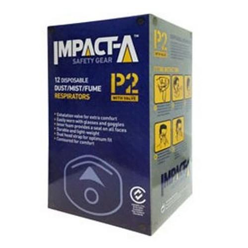 Impacta P2 mask with valve