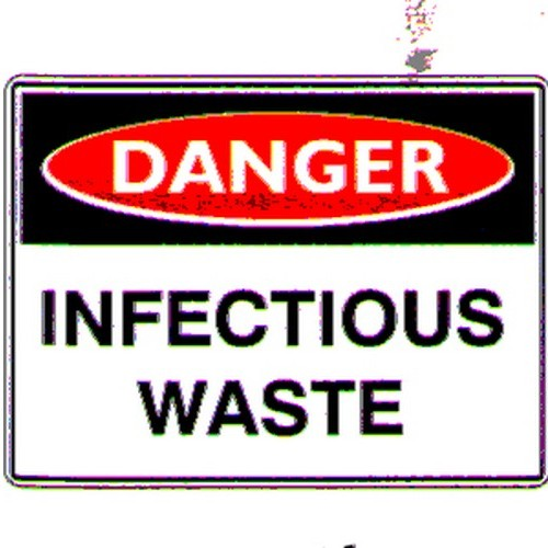 Danger Infectious Waste Sign
