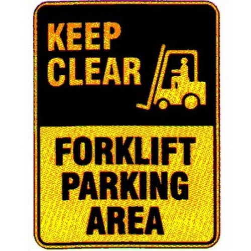 Keep-Clear-Forklift-Paring-Area