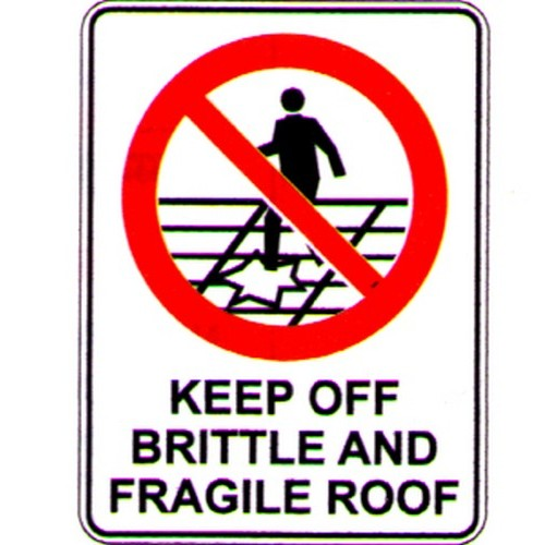 Keep-Off-Brittle-Sign