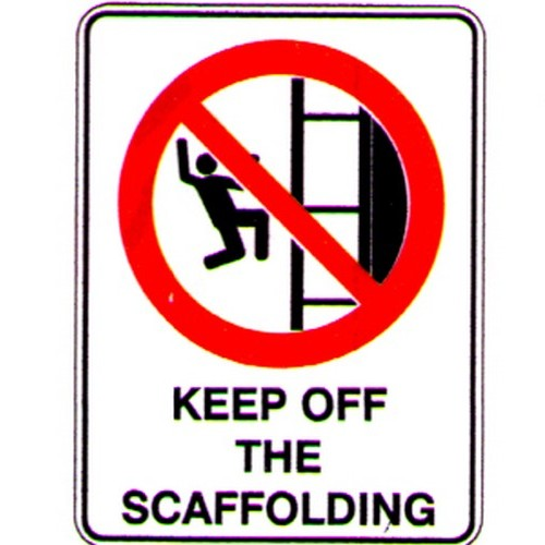 Keep-Off-Scaffolding+Symbol-Sign