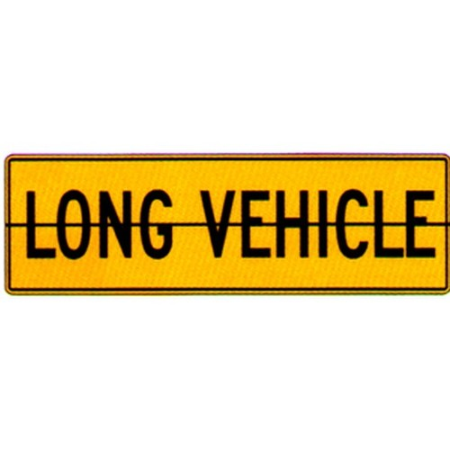 Long Vehicle Sign