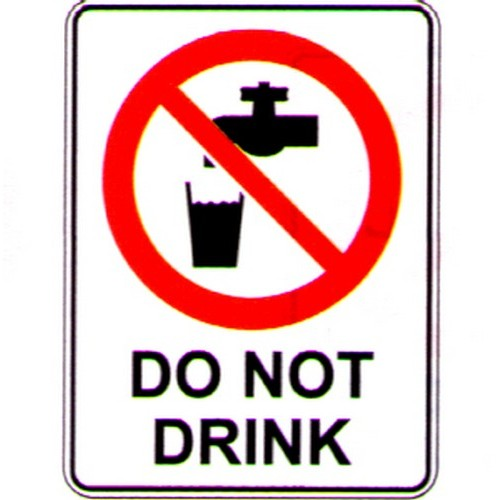 Do-Not-Drink-Sign