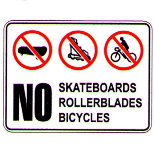No-BikeSkateRollerblade-Sign